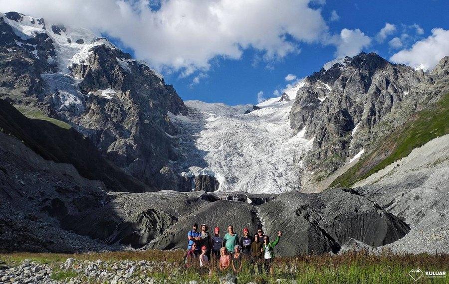 Походы на Кавказ - групповое фото