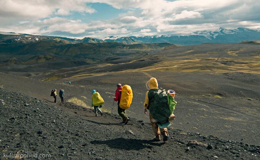 Треккинг по югу Исландии