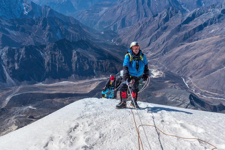 Восхождение на Химлунг Химал