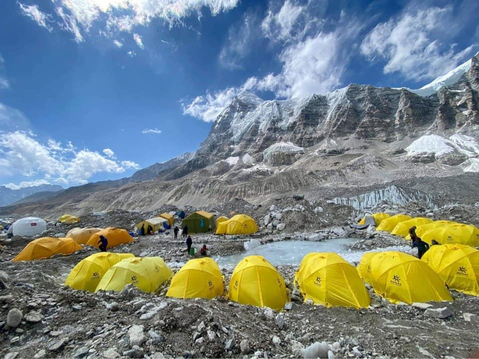 Экспедиция на Эверест и Лхоцзе