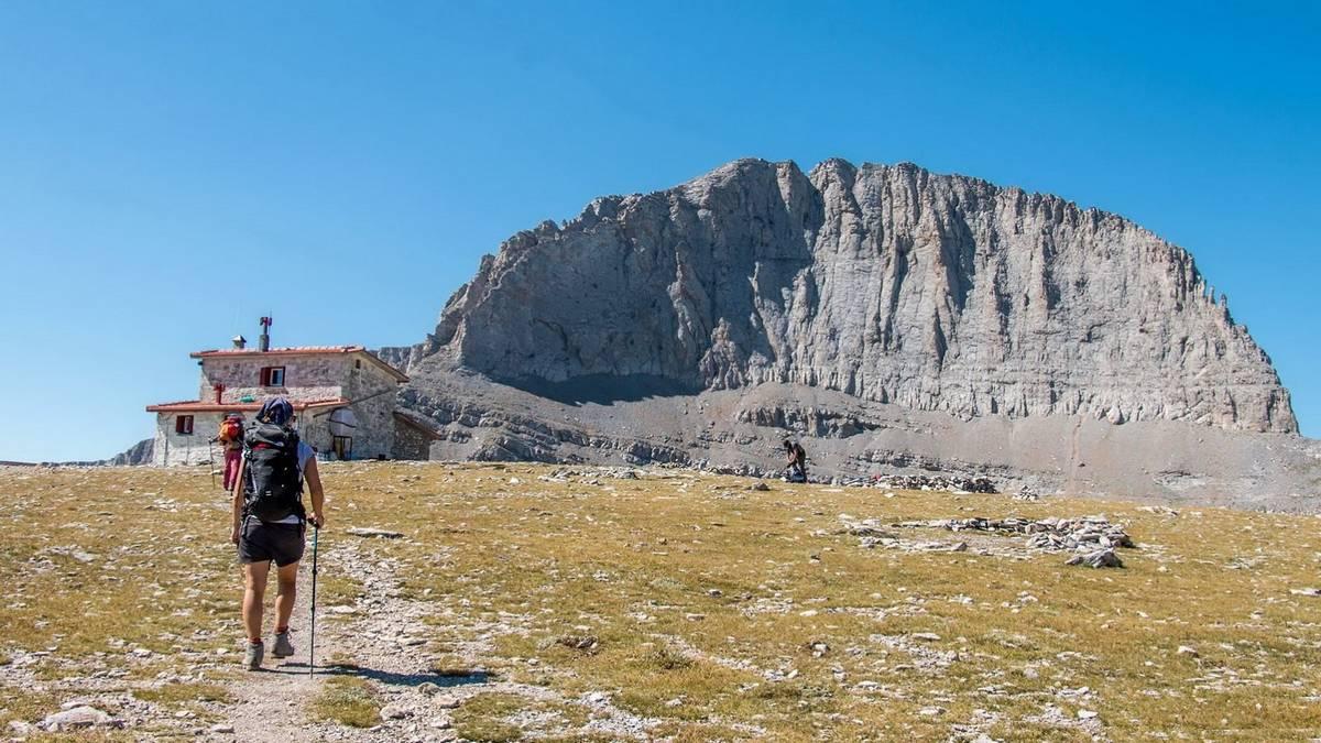 Похід по Греції та сходження на Олімп